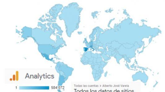 LE BLOG D'ALBERTO JOSÉ VARELA EST LU PARTOUT DANS LE MONDE. Nous avons ainsi des lecteurs sur tous les continents et pays de la planète.